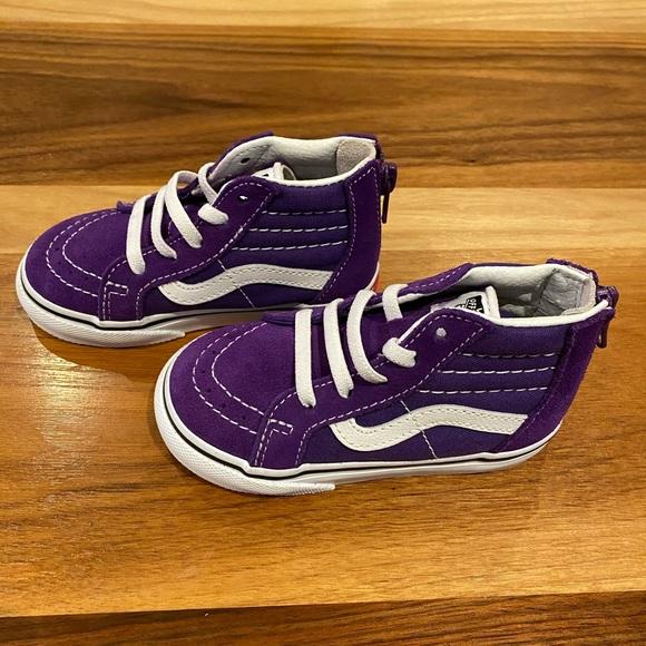 Vans toddler shoes size 6.5